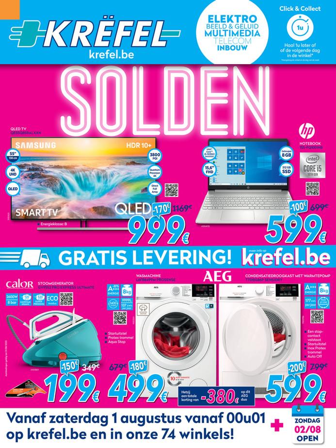 Krëfel folder van 03/08/2020 tot 31/08/2020 - Promotions du mois d'aout