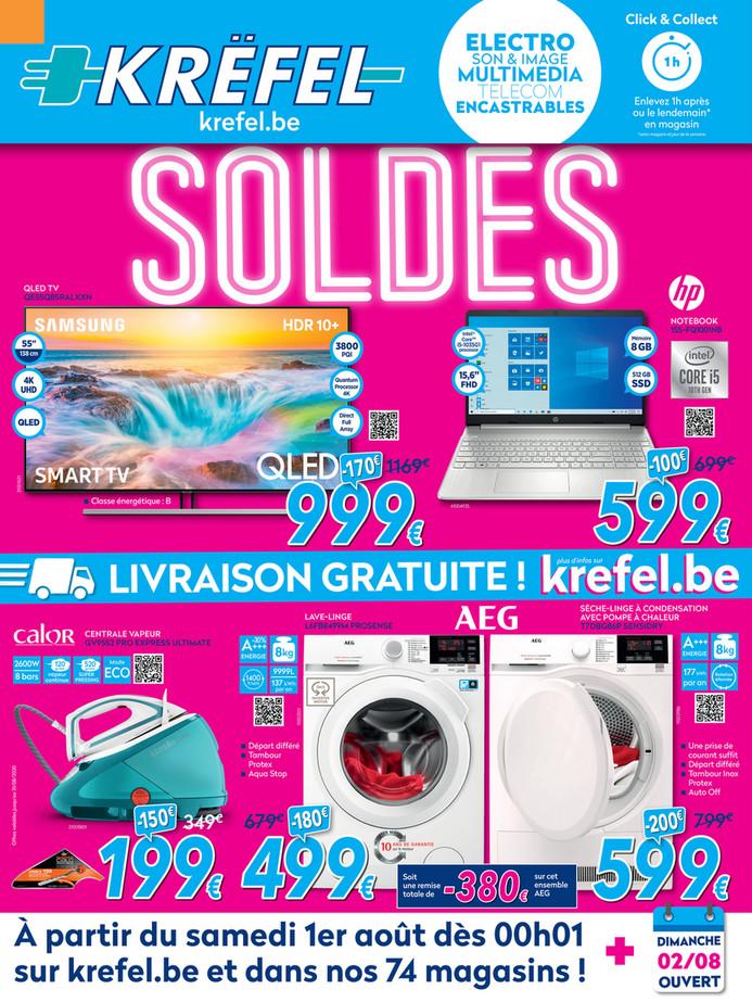 Folder Krëfel du 03/08/2020 au 31/08/2020 - Maandpromoties augustus