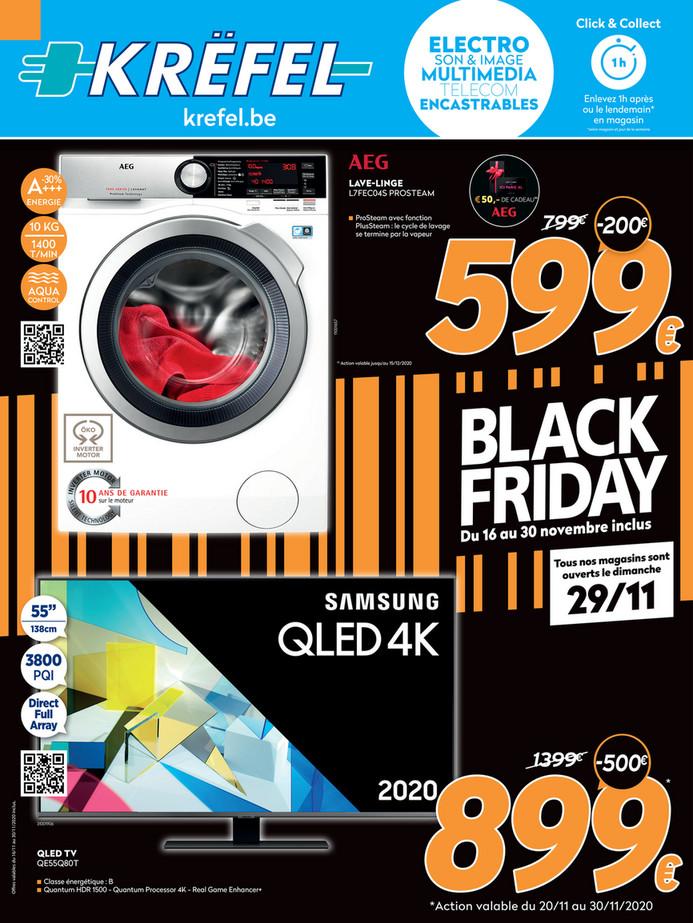 Folder Krëfel du 20/11/2020 au 30/11/2020 - Promotions du mois de novembre
