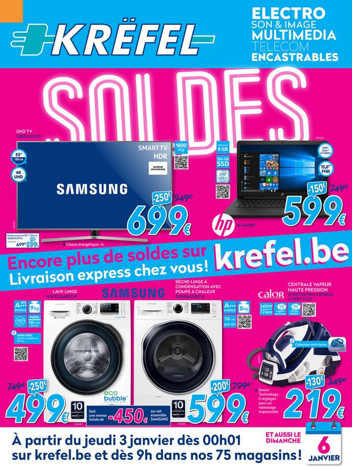 Folder Krëfel du 01/01/2019 au 31/01/2019 - Promotions du mois
