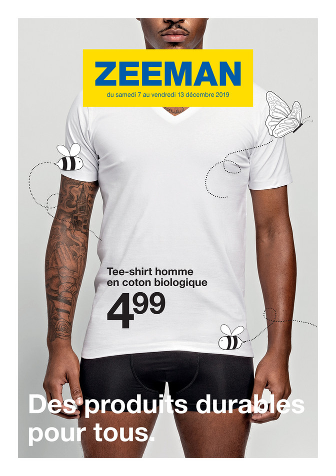 Folder Zeeman du 07/12/2019 au 13/12/2019 - Promotions de la semaine 50