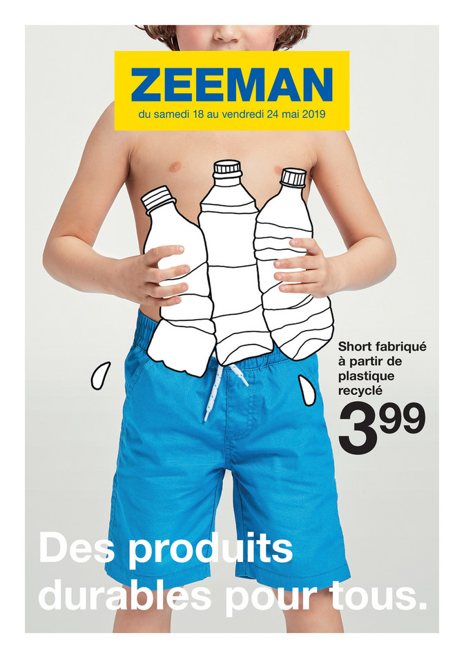 Folder Zeeman du 18/05/2019 au 24/05/2019 - Promotions de la semaine 21