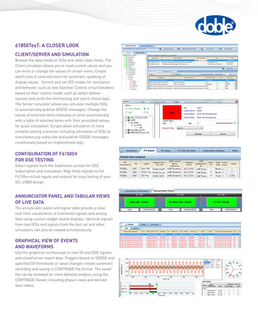 Doble Solutions Catalog - Page 12-13