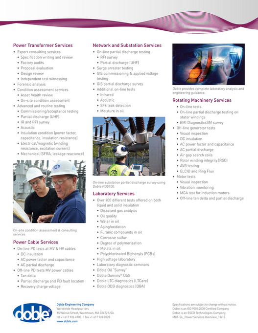 Doble Solutions Catalog - Page 102-103