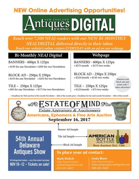 Turley Publications - 2018 Antiques Journal Rate Card - Page 1 ...
