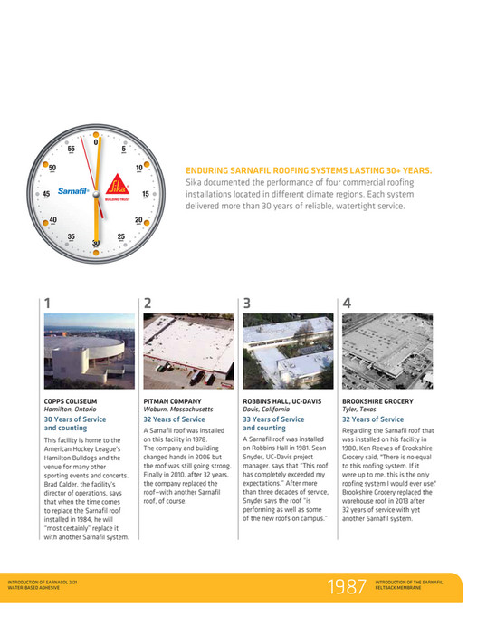 SRP Building Products Inc - Roof - Sika Sarnafil Brochure