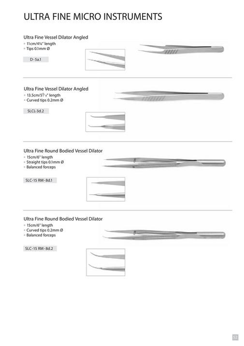 Mast Pak Plastic Surgery instrument's Catalogue - Page 54-55