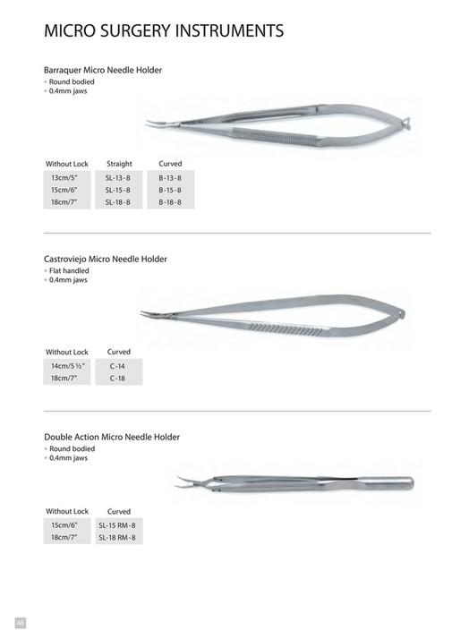 Mast Pak Plastic Surgery instrument's Catalogue - Page 50-51