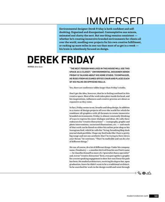 Modern In Denver - Modern In Denver - Winter 2018 - Page 100-101