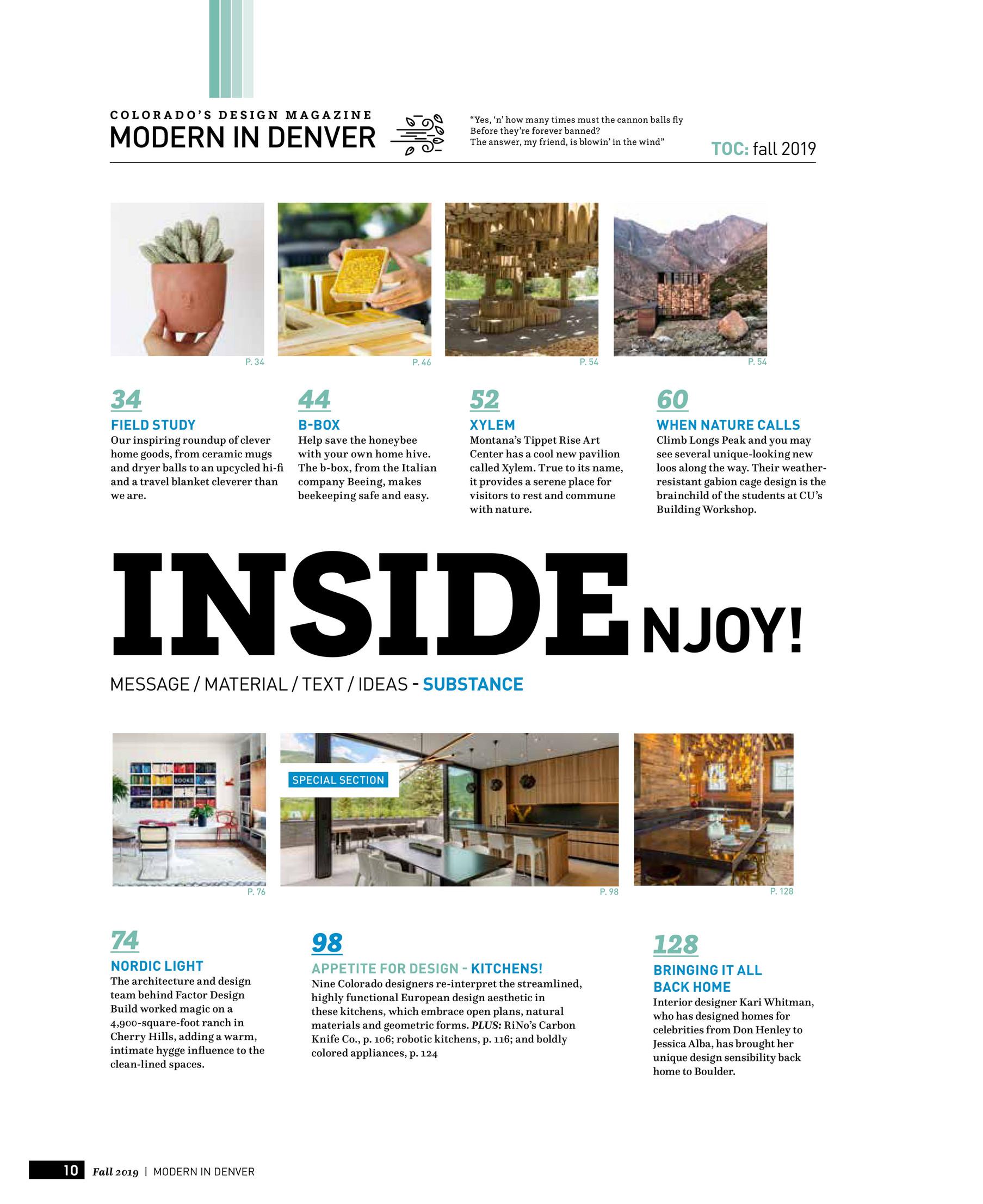 Modern In Denver Modern in Denver Fall 2019 Page 122 123