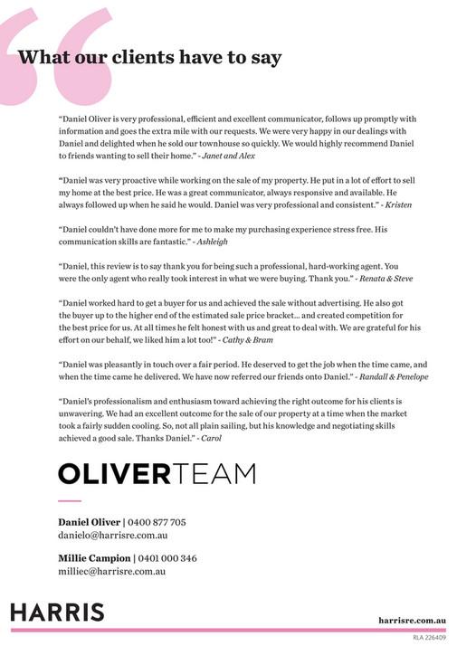 Harris Real Estate - Oliver Team Pre list Booklet - Page 4