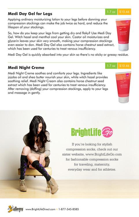 d25de5e4d4 1.7 oz Medi Day Gel for Legs $10.46 Applying ordinary moisturizing lotion  to your legs before