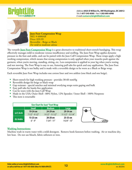 bc667e085b Compression Wraps Catalog - BrightLife Direct - Page 12-13