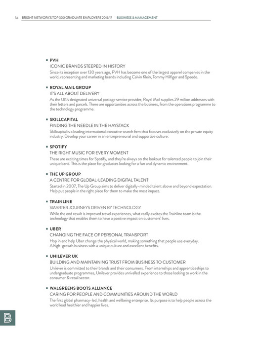 Bright Network Magazine 2016/17 - Page 36-37 - Created with Publitas com