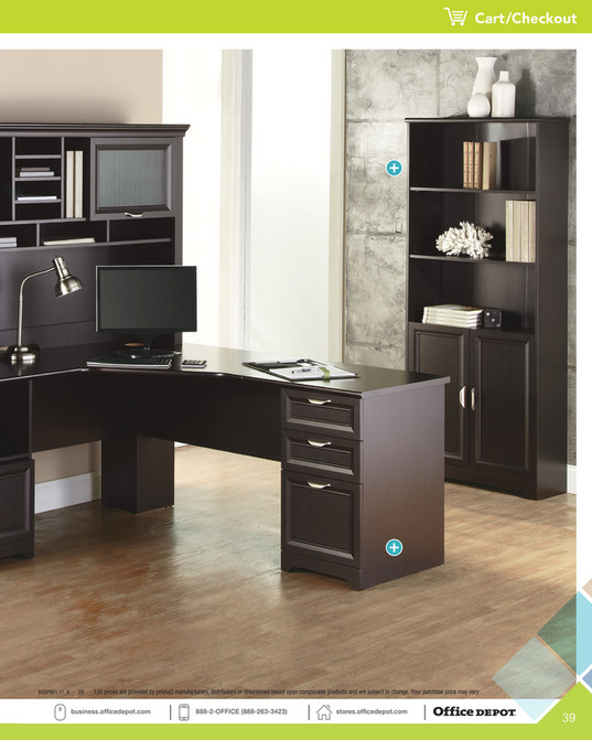 Office Depot Exclusive Brand Furniture Page 38 39