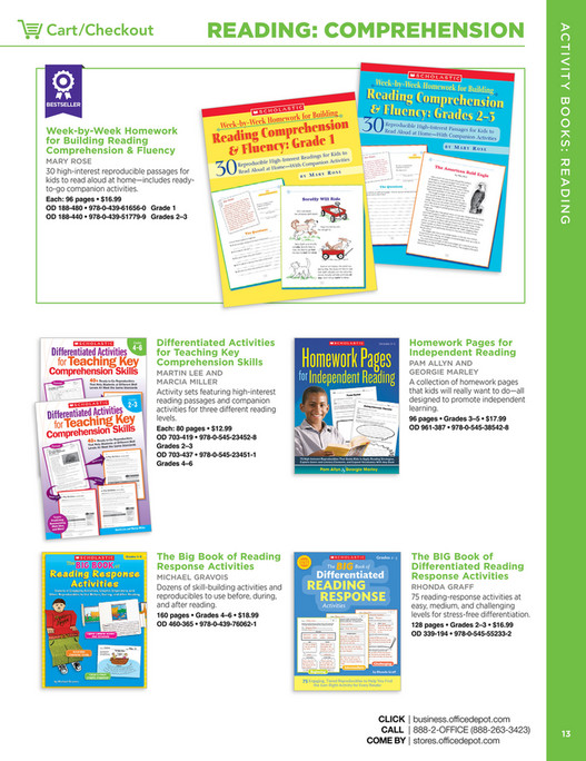 Scholastic Teacher's Resources - Page 14-15