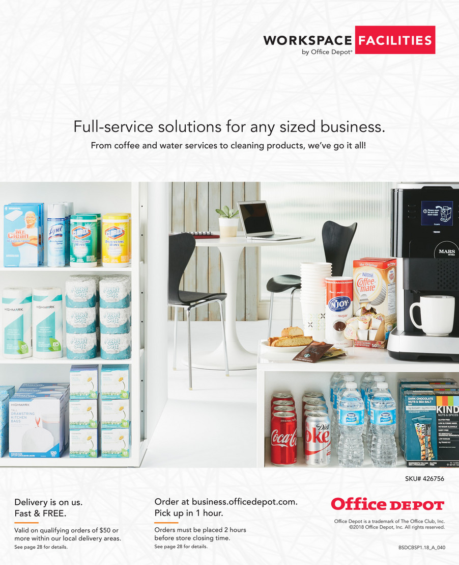 Office Depot Worke Facilities 2018
