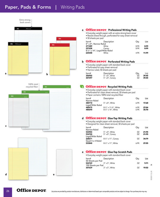 Office Depot Business Select 2018 - Page 24-25