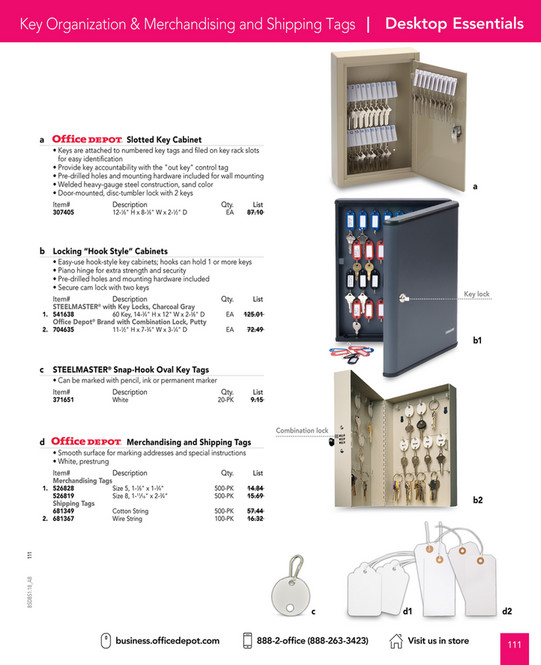 Office Depot Business Select 2018 - Page 110-111