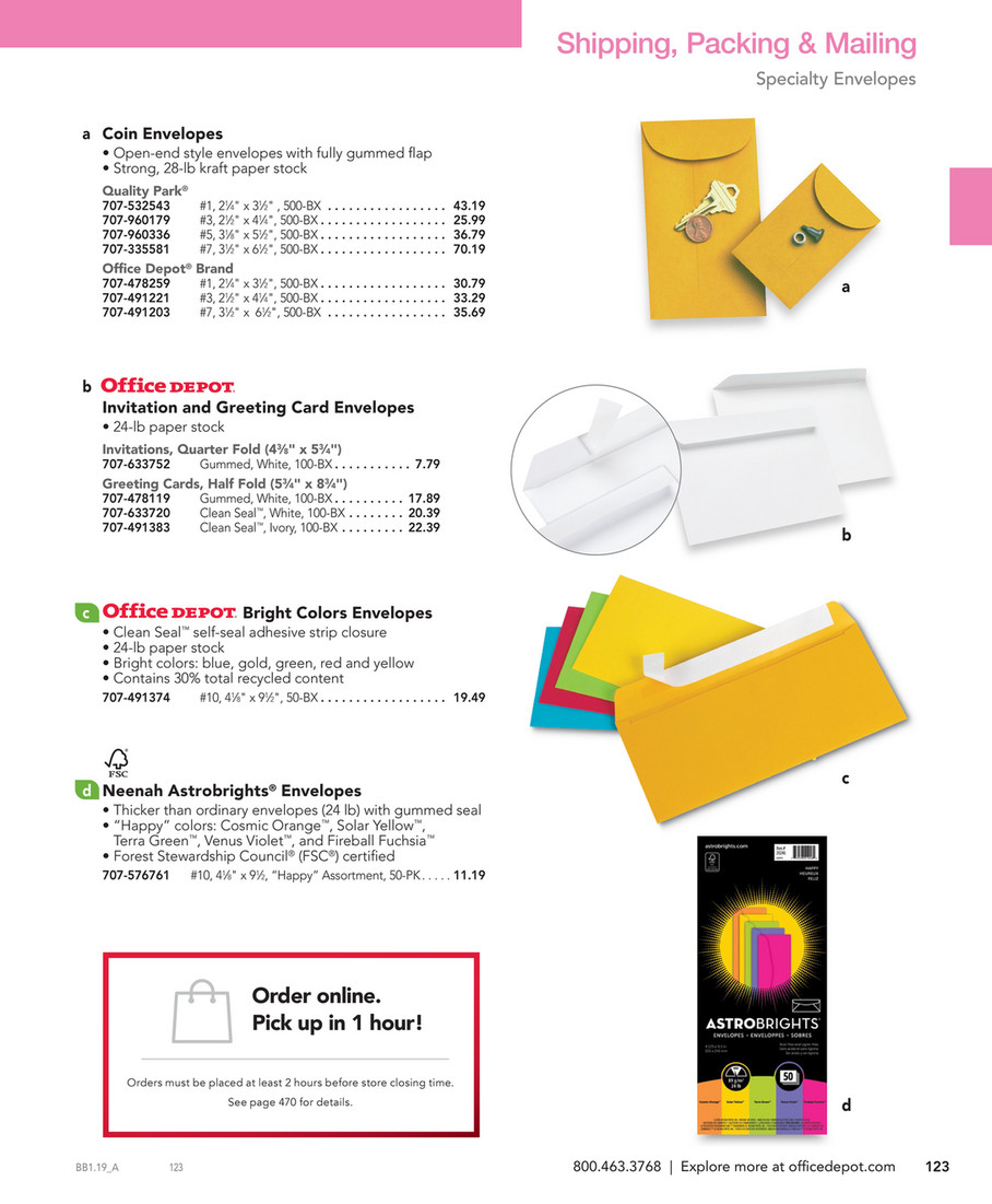 Office Depot Big Book 2019 Page 122 123