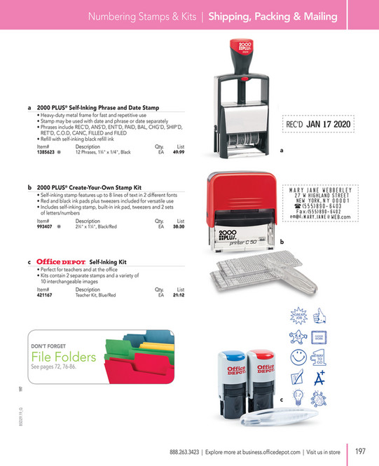 Office Depot Business Solutions 2019 - Page 198-199
