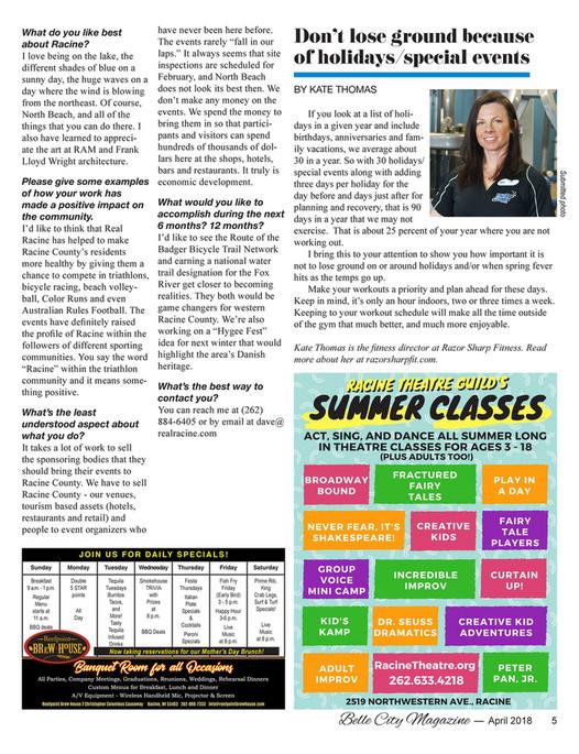 Belle City Magazine - 2018 April - Page 2-3 - Created with Publitas com
