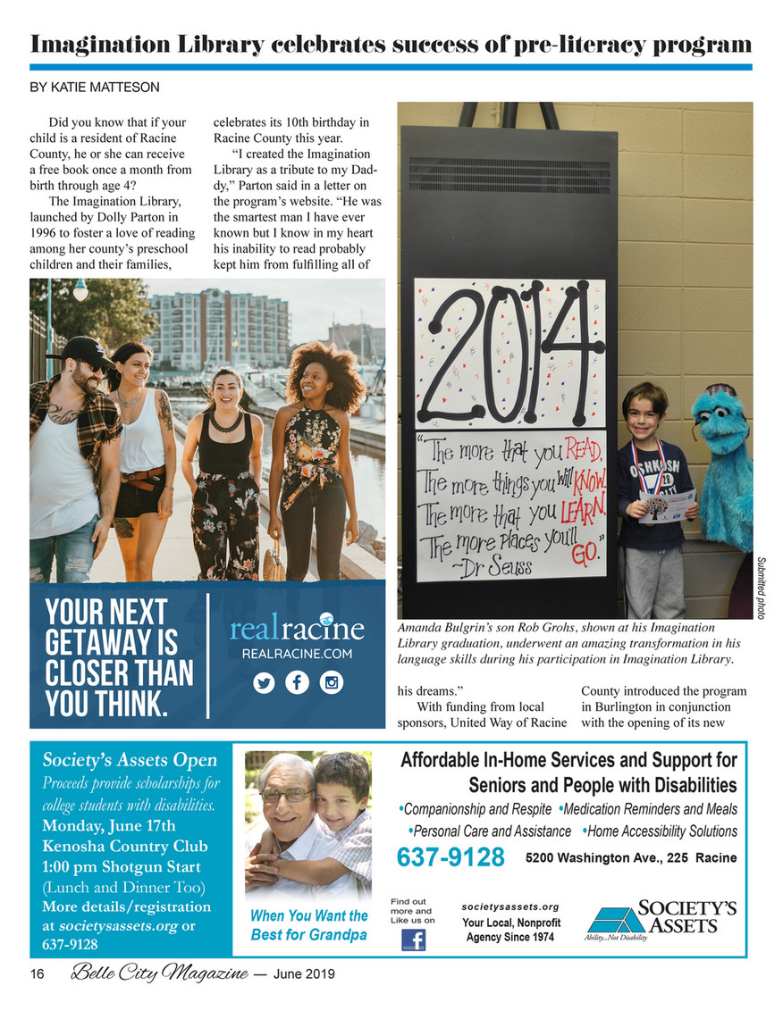 Belle City Magazine - 2019 06 (June) - Page 16 - Created with