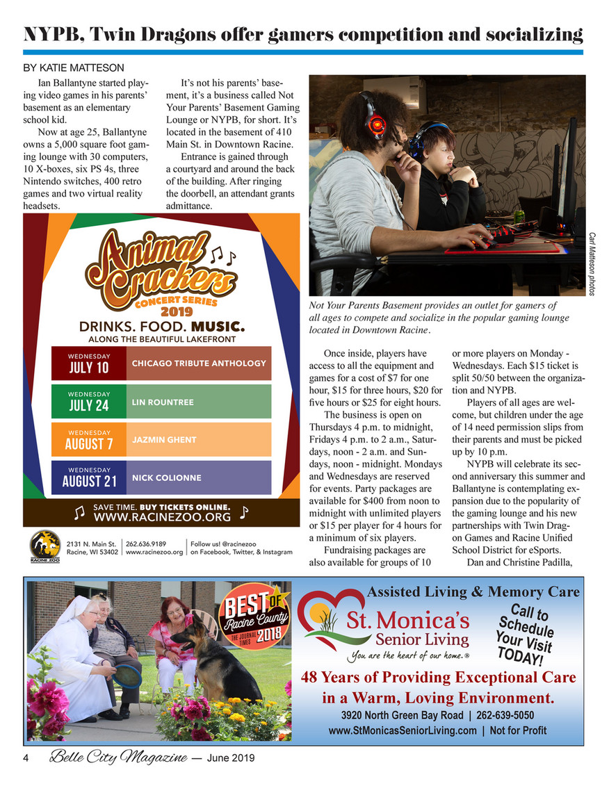 Belle City Magazine - 2019 06 (June) - Page 3 - Created with