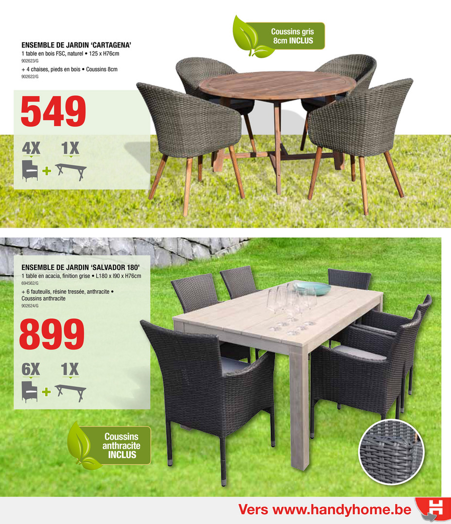 HandyHome-catalogue-jardin-2017 - Page 6-7 - Created with ...