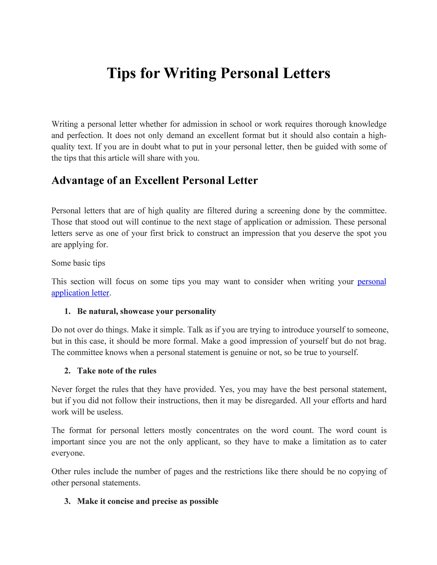 What Is Personal Letter from view.publitas.com