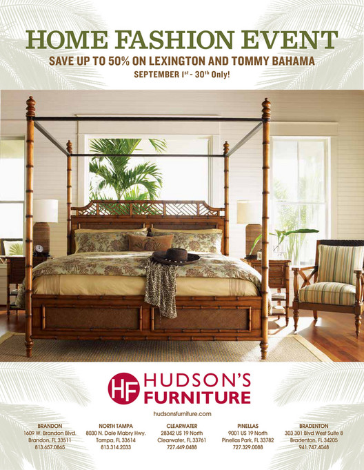 Hudson S Furniture Lexington And Tommy Bahama 2017 September Catalog Page 2 3 Created With Publitas