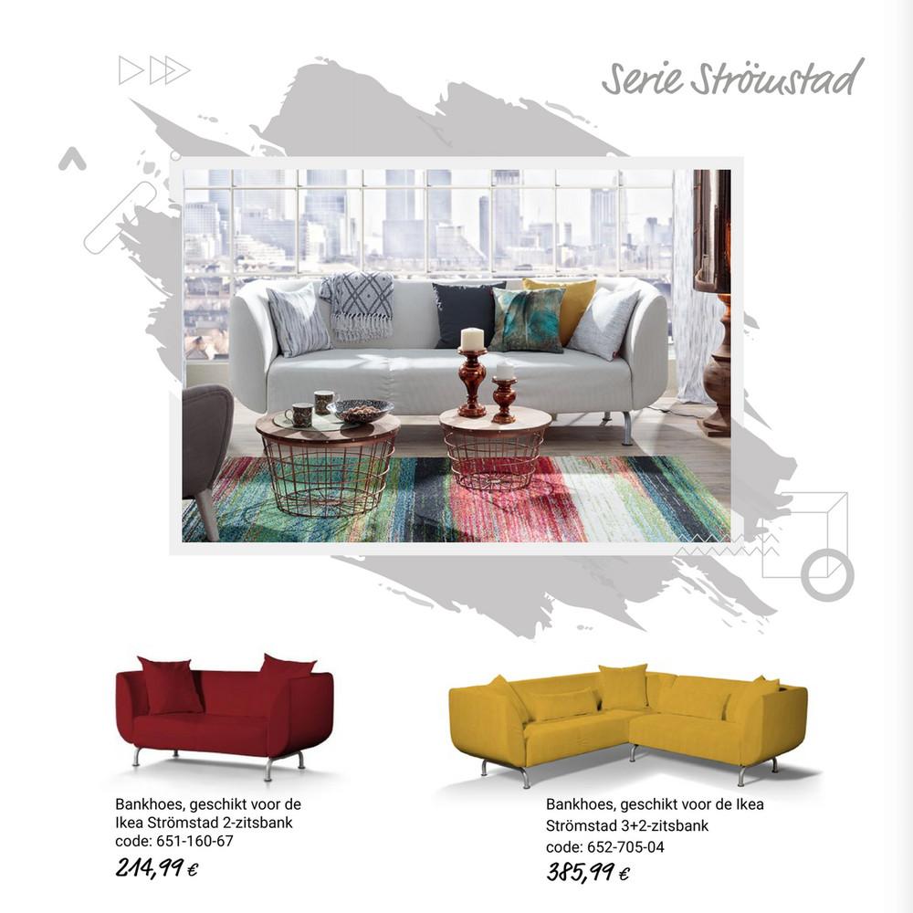 Blauwe Ikea Slaapbank.Nl Hoezen Voor Ikea Modellen Zitbankhoes Kivik 3 Zits