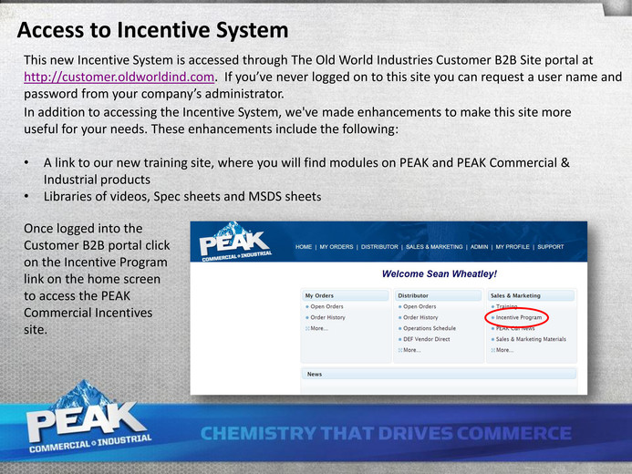 PEAK C&I - PEAK C&I Distributor Incentive Program - Page 2-3