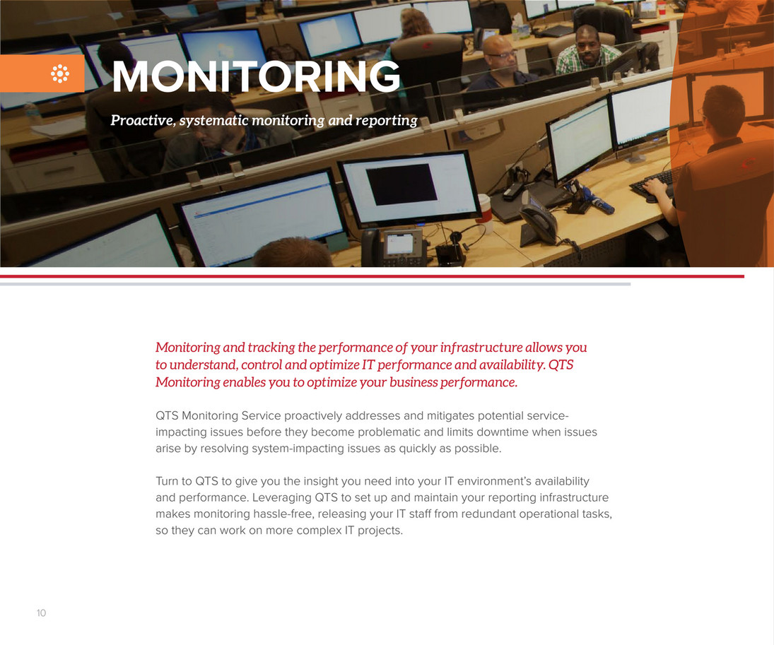 QTS - QTS Managed Services Brochure - Page 10 - Created with