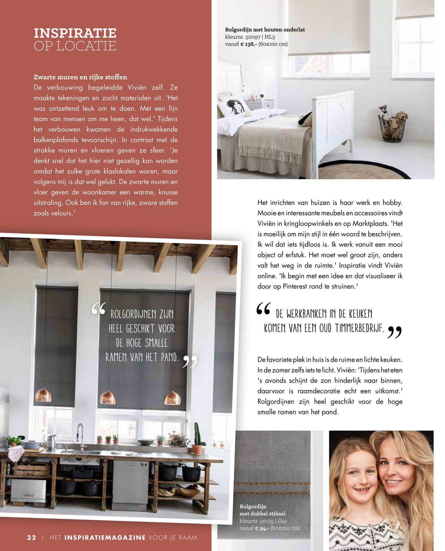 Bc   inspiratie voor je raam   bece®   editie 2016/2017   pagina 32 33