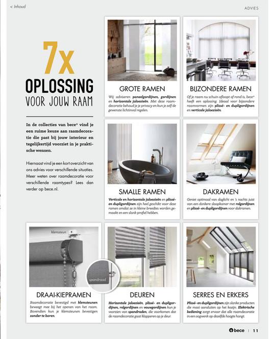 BC - Inspiratie voor je raam - bece® - editie 2017 - Pagina 10-11