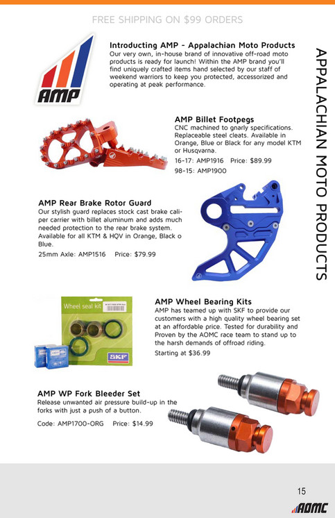 2017 AOMC Equipment Guide - Page 12-13 - Created with Publitas com