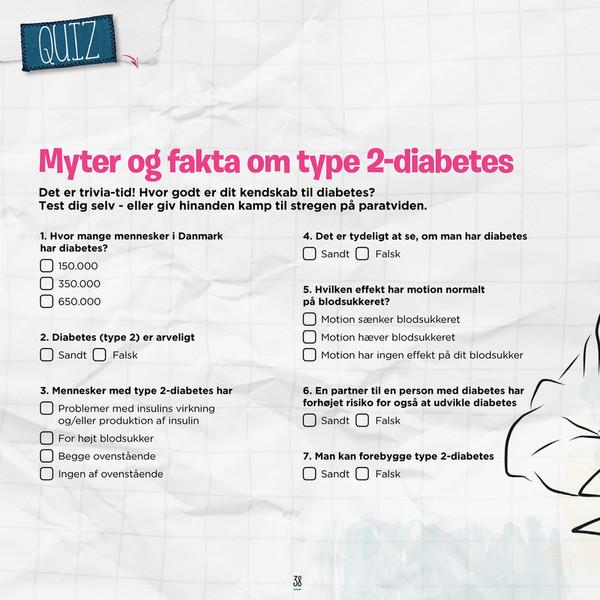 normalt blodsukker diabetes type 2