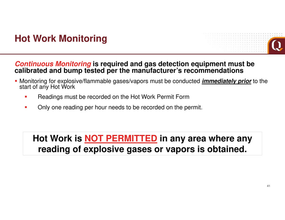 My publications - EQT Contractor Safe Work Rules Overview - Page 41
