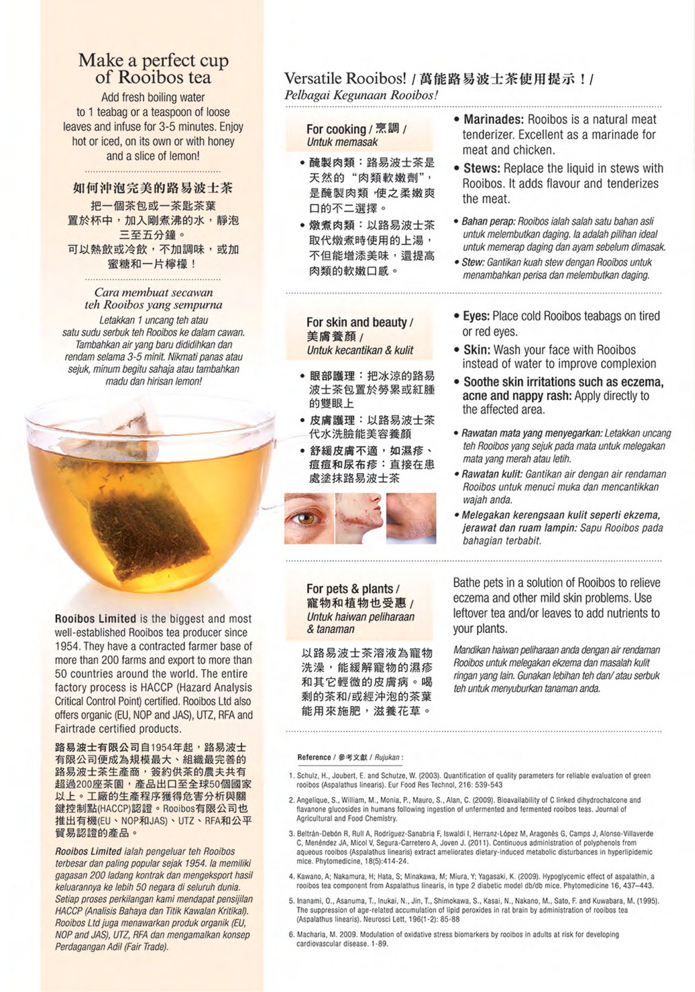 Cosway Malaysia Green Rooibos Tea For Robust Health Page 1 Created With Publitas Com