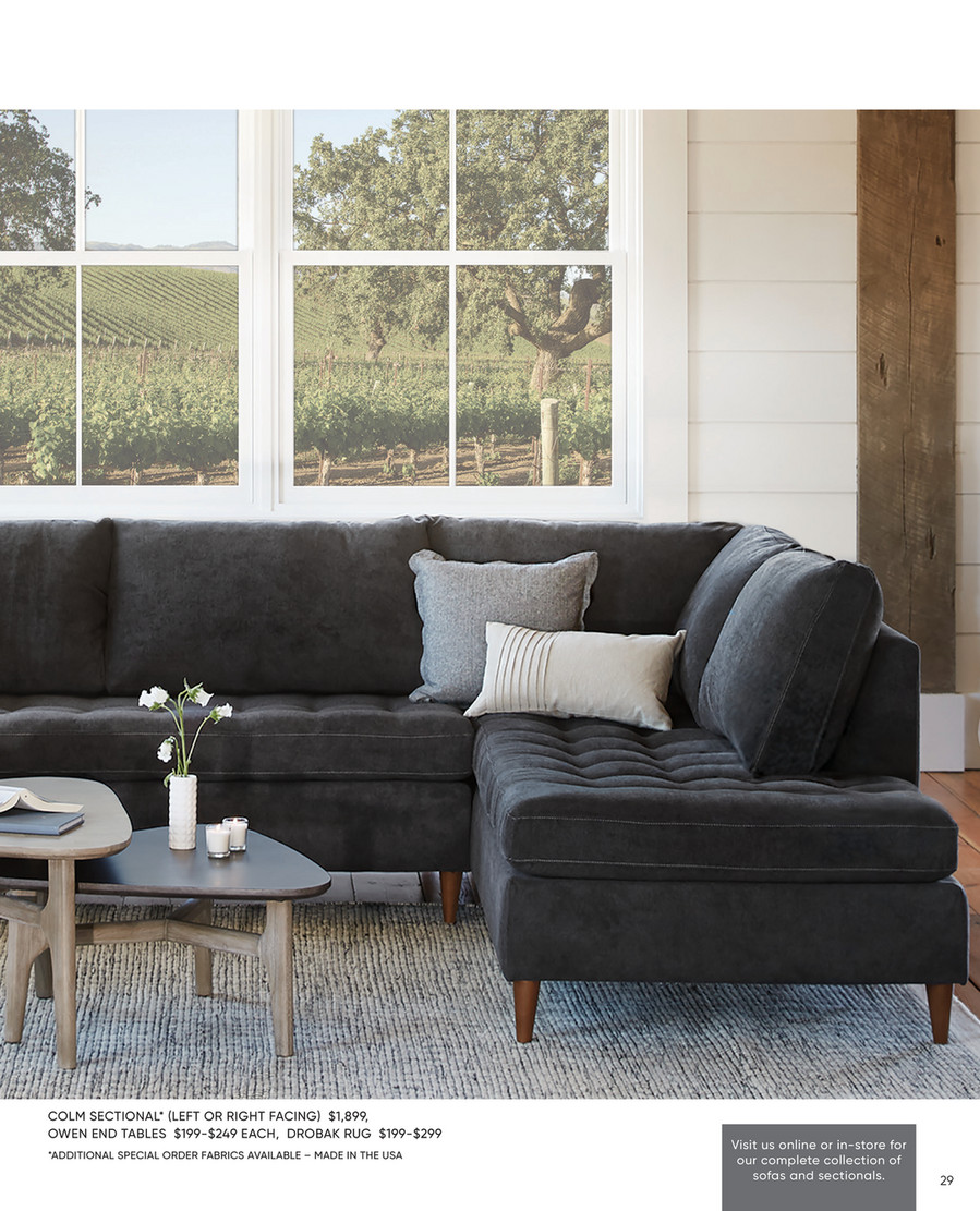 Mirak Sectional Right Seated Chaise