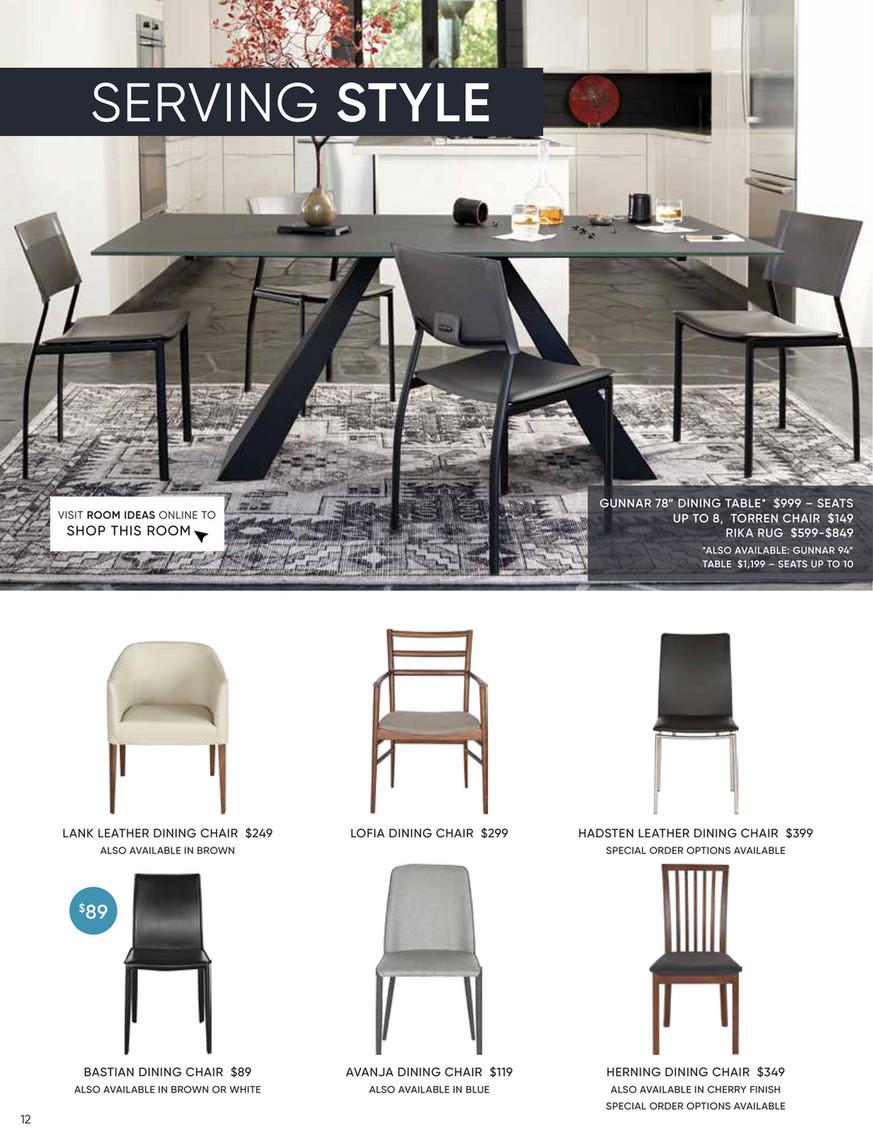 Brilliant Catalog Dania Furniture Winter 2018 Barrima Dining Chair Lamtechconsult Wood Chair Design Ideas Lamtechconsultcom