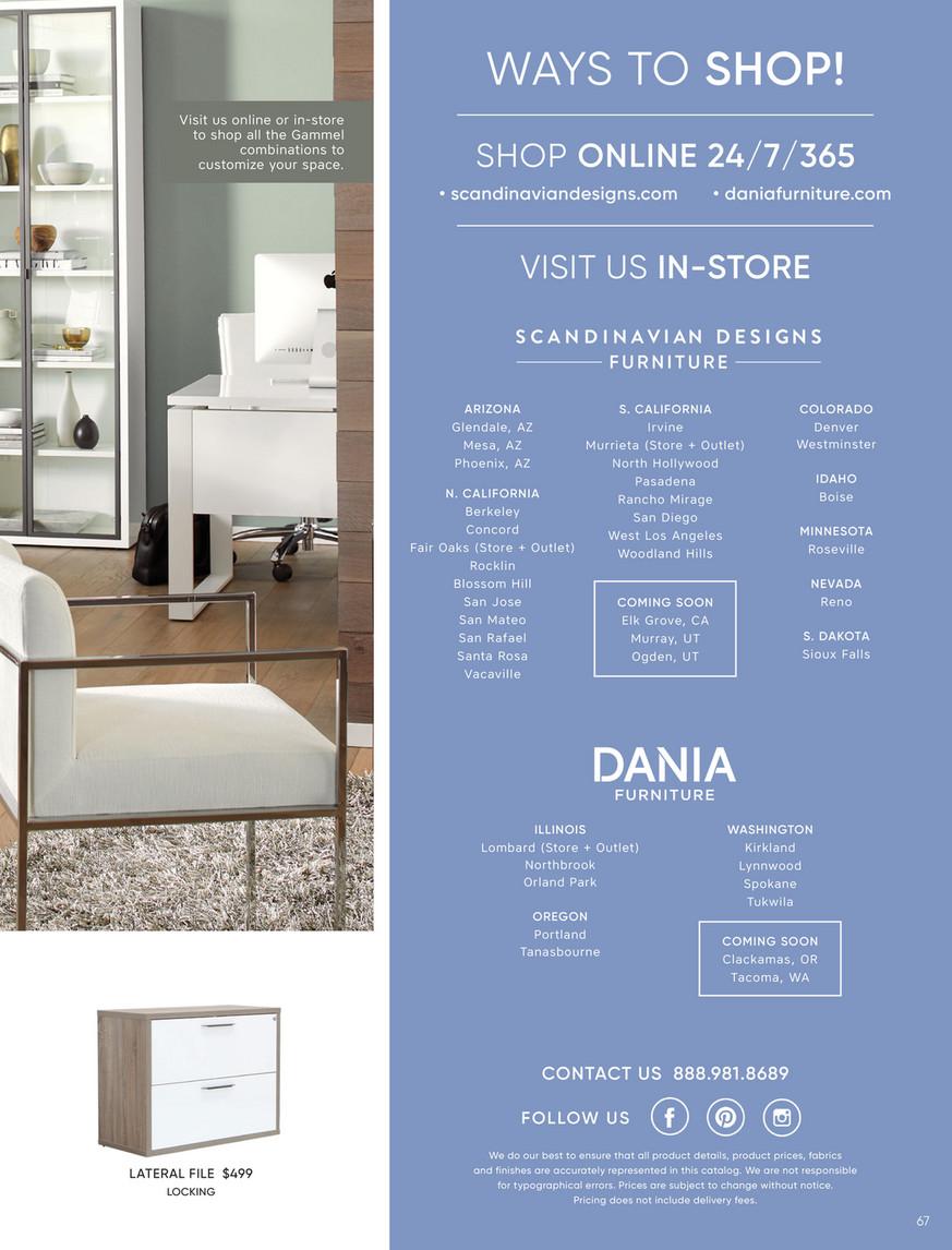 Scandinavian Designs Catalog Fall 2019 Page 66 67