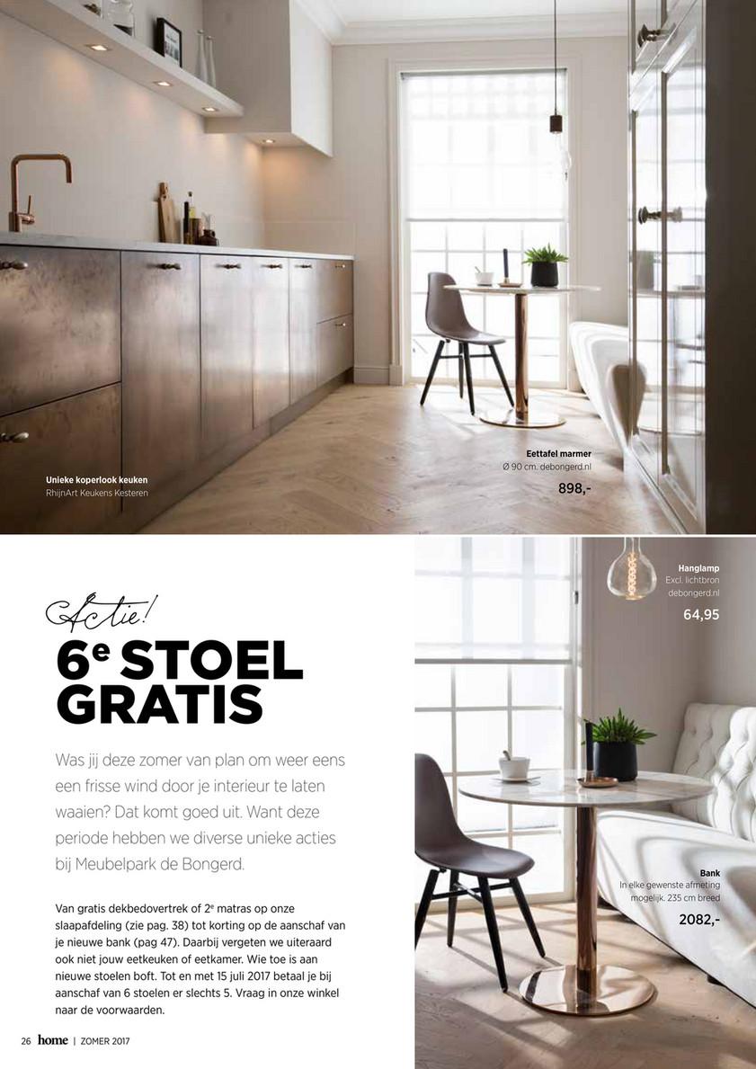 Design Eettafel Bank.Meubelpark De Bongerd Home Magazine 5 Page 24 25 Created