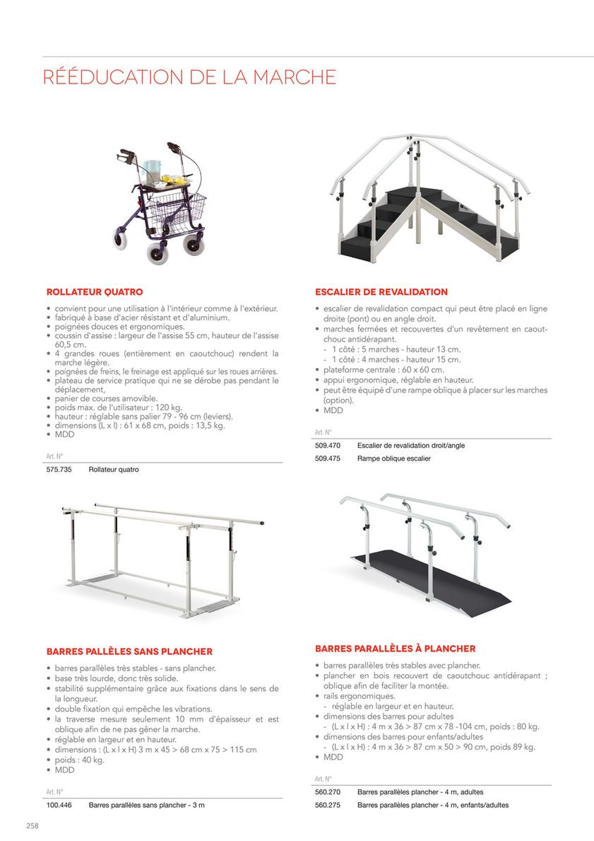 Largeur D Une Marche D Escalier catalogue gymna belgium - page 260-261 - created with