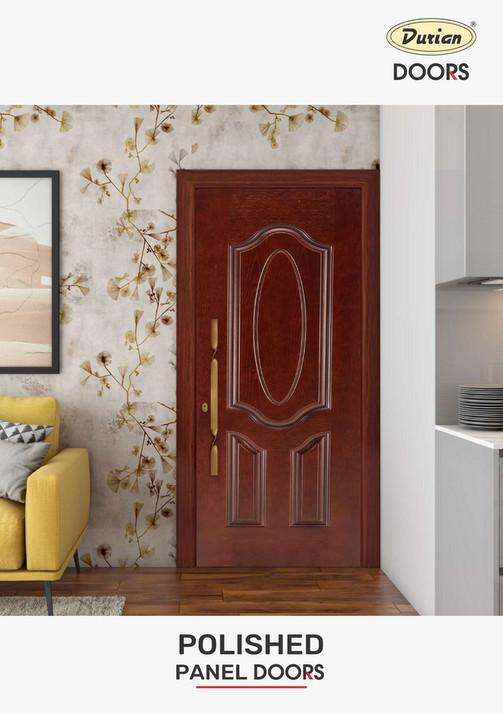 Durian Polish Panel Door