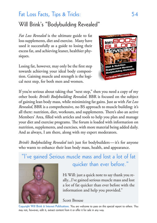 My Publications Fat Loss Workout Tips Page 54 55 Created With