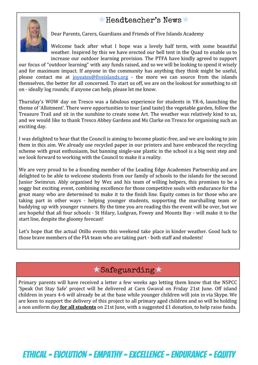 My publications - FIA Newsletter Issue 78 (7th June 2019) - Page 2