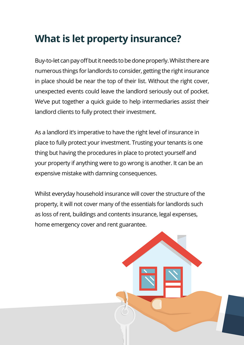 Source Insurance - A guide to Let Property Insurance - Page 1