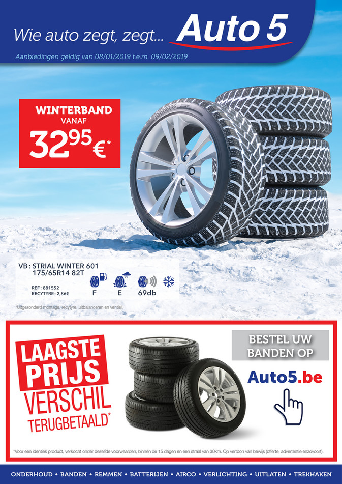 Auto5 folder van 08/01/2020 tot 02/02/2020 - Maandpromoties januari